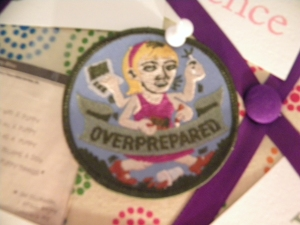 Capability Mom's Over Prepared Badge