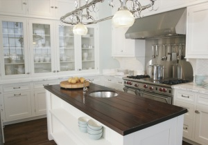 Venegas and Company Showroom kitchen that inspired Capability Mom