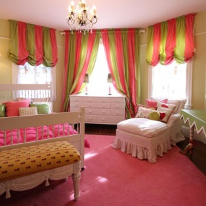 melissa gulley interior designer - girls bedroom